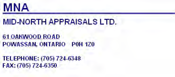 MID- North Appraisals LTD